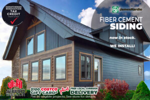 J&H Builder's Warehouse Home Show Special - James Hardie Siding
